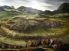 Defeat at the Battle of Almanza