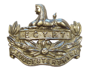 Badge The Gloucestershire Regiment