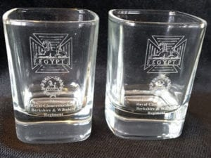 RGBW Dram Glass Pair