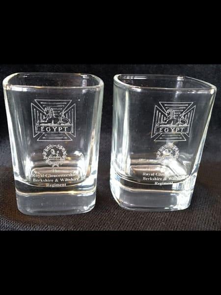 RGBW Dram Glass Pair