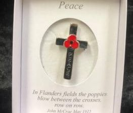 Poppy Peace Cross